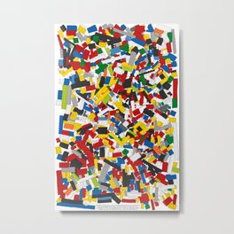 The Lego Movie Metal Print