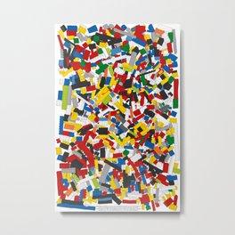 The Lego Movie Metal Print