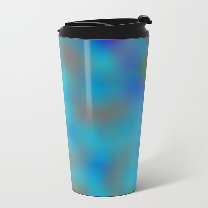Forest and Nature Mist Metal Travel Mug