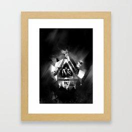 iPhone 4S Print - Reverse Framed Art Print
