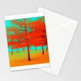 Vintage Trees at the Beaches in Toronto Stationery Cards