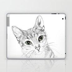 A Sketch :: Cat Eyes Laptop & iPad Skin