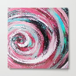 Spiral honeymoon Metal Print