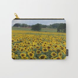 Field of a Million Sunfowers I Carry-All Pouch