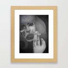 Living dead Girl! Framed Art Print