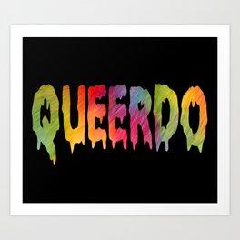 FURRY QUEERDO Art Print