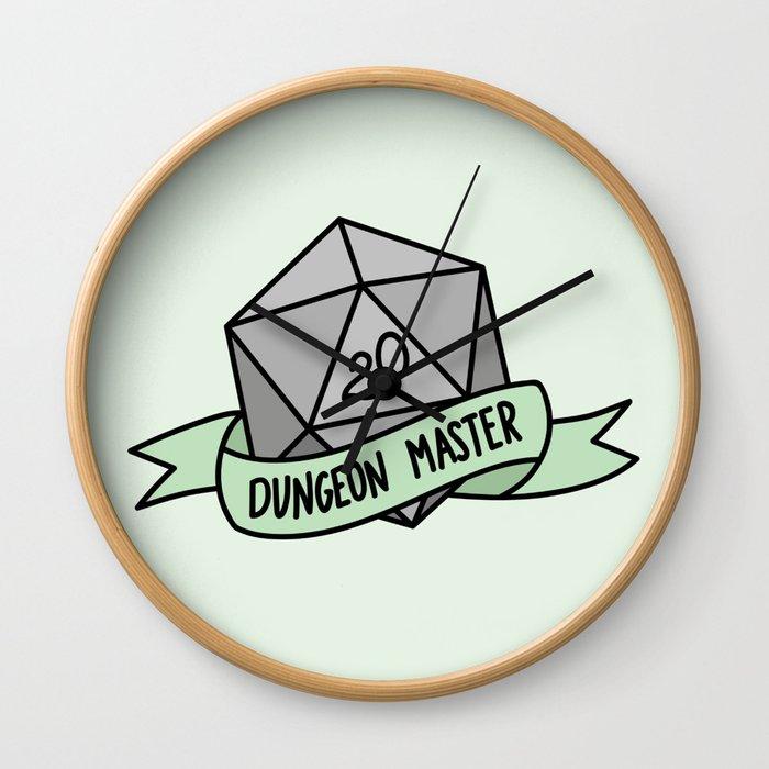 Dungeon Master D20 Wall Clock