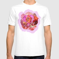 Rose Of Roses Mens Fitted Tee MEDIUM White