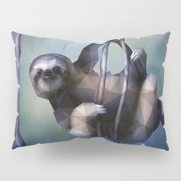 Sloth (Low Poly Cool) Pillow Sham