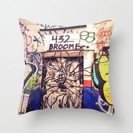 432 Broome Throw Pillow