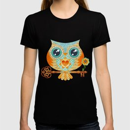 Owl's Summer Love Letters T-shirt