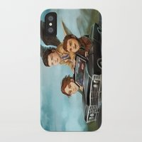 supernatural iPhone & iPod Cases featuring Supernatural by RAVEFIRELL
