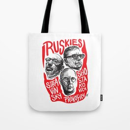Ruskies-Russian composers Tote Bag