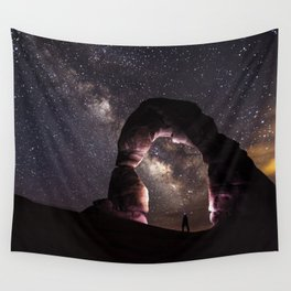Delicate Nights Wall Tapestry