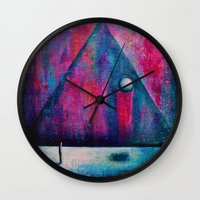 portal Wall Clocks featuring Portal by Sylwia Borkowska