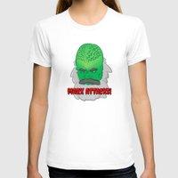 marx T-shirts featuring Marx Attacks! by ericbennettart