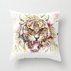Tatewari Ute'a Tiger Throw Pillow
