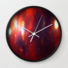 Falling Stars Wall Clock