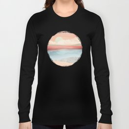 Mint Moon Beach Long Sleeve T-shirt