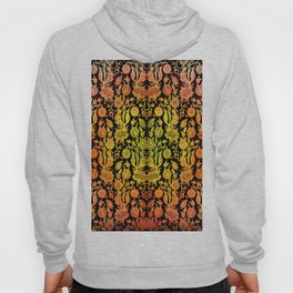 Floral Fabric Vintage Gift Pattern #1 Hoody