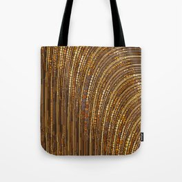 zara - art deco arc arch design in bronze copper gold Tote Bag