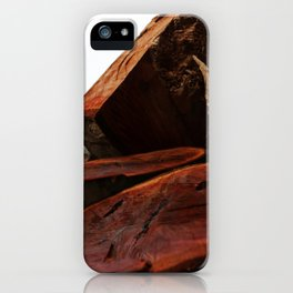 Stacked high against the sky... iPhone Case