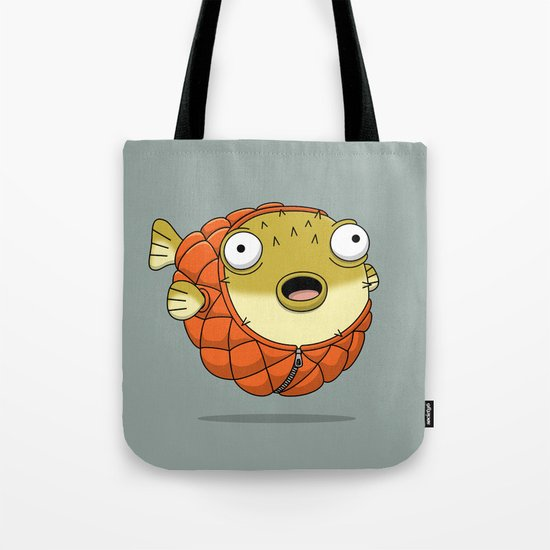 Puffer fish Tote Bag