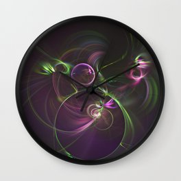 The Motion of Celestial Bodies Wall Clock