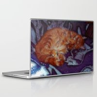 sleeping beauty Laptop & iPad Skins featuring Sleeping Beauty by Lucia