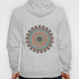 Boho Patchwork-Vintage colors Hoody