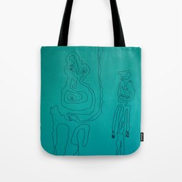 Portrait 3 Tote Bag
