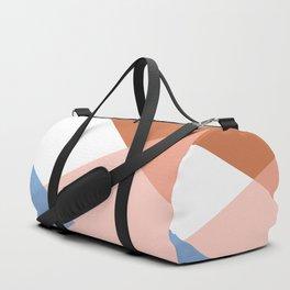 Geometrics - moroccan sky Duffle Bag