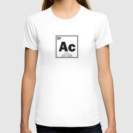 Actinium chemical element T-shirt
