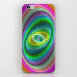 Elliptical magic iPhone Skin