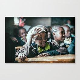 Kenyan Schoolchild Four Canvas Print