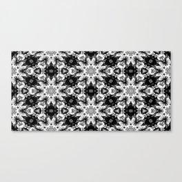 Rorschach Test Pattern Canvas Print