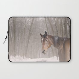 Gulliver in the snow Laptop Sleeve