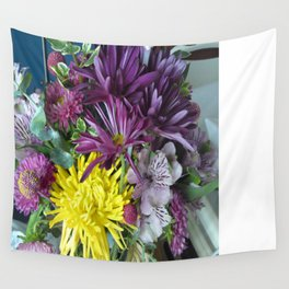 Mixed Flower 2 Wall Tapestry