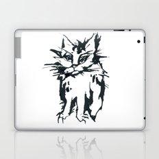 Angry Cat Laptop & iPad Skin