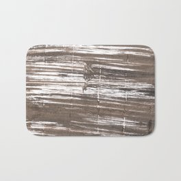 Umber abstract watercolor background Bath Mat