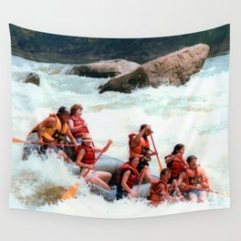 Rafting the Youghiogheny Wall Tapestry