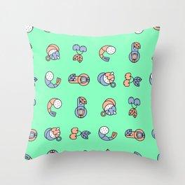 Pegacica Throw Pillow