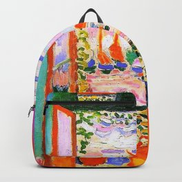 Henri Matisse Open Window Backpack