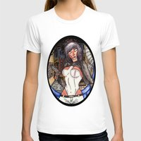 ghost in the shell T-shirts featuring Motoko Kusanagi from Ghost in the Shell by Jazmine Phillips