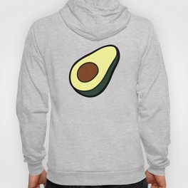 Avocado Pattern in Pink Hoody