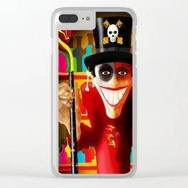JUJU MAN Clear iPhone Case