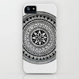 A4 Mandala 9 iPhone Case