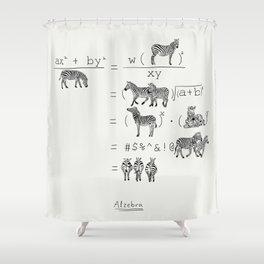 Alzebra Shower Curtain