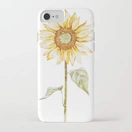 Sunflower 01 iPhone Case