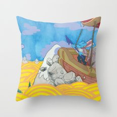 Chasing the Godhead Throw Pillow